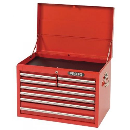 Stanley Proto J442719-8RD 440SS 27-Inch Top Chest, 8 Drawer, Red