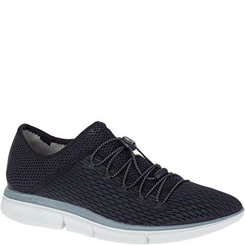 Merrell Women's Zoe Sojourn LACE E-MESH Q2 Sneaker, Black, 5.5 M US