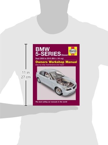 BMW 5-Series Diesel Service And Repair Manual: 03-10: Haynes: 9781785210204: Amazon.com: Books