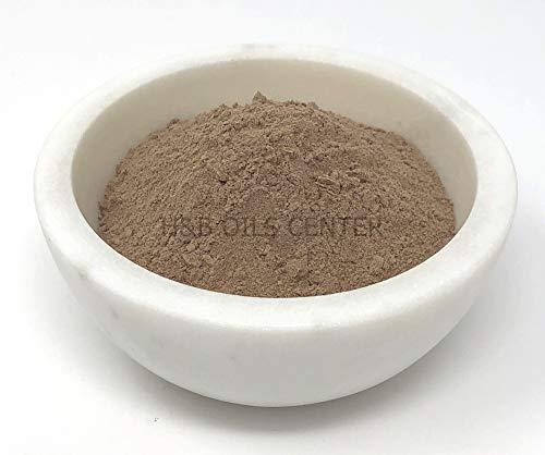 (Rhassoul Moroccan Clay Organic Powder Deep Pore Mud Face Mask Cleanse Exfoliating Detox Acne Skin Treatment 1 oz)