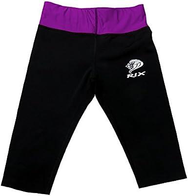 Rix Womens Sports Fitness Gym Workout Exercise Leggings Ladies Yoga Capri Pants