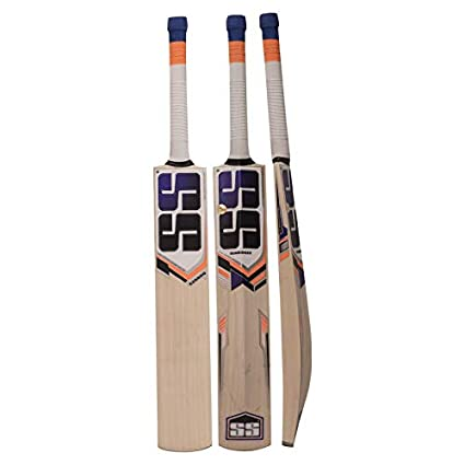 fcb4fa83caf Amazon.com   SS Kashmir Willow Leather Ball Cricket Bat