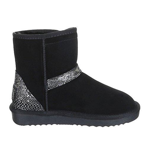 Women's Shoes 5803Boots Black - Schwarz 2 AHpFobS