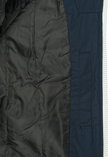 Hombre 1991 Insignia Entretiempo Chaqueta De Abrigo Blue Capucha Solid Tilly para con q6Zwaa