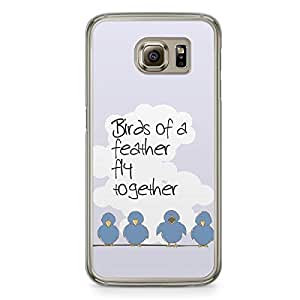 Birds of a Feather Samsung Galaxy S6 Transparent Edge Case