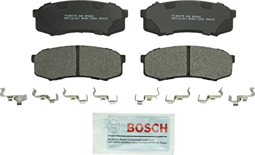 Bosch BP606 QuietCast Premium Semi-Metallic Rear Disc Brake Pad Set