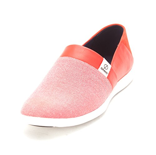 Cole Haan Baskets pour Femme/US Frauen Citrus Red Canvas JT49bhrU