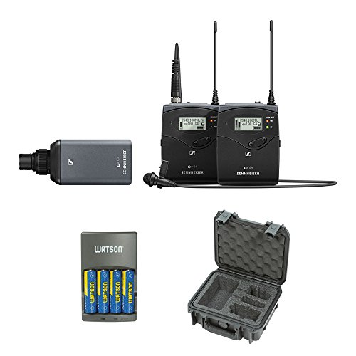 - Sennheiser ew 100 ENG G4 Wireless Microphone Combo System A: (516 to 558 MHz) with iSeries Waterproof Sennheiser System Case & 4-Hour Rapid Charger Kit