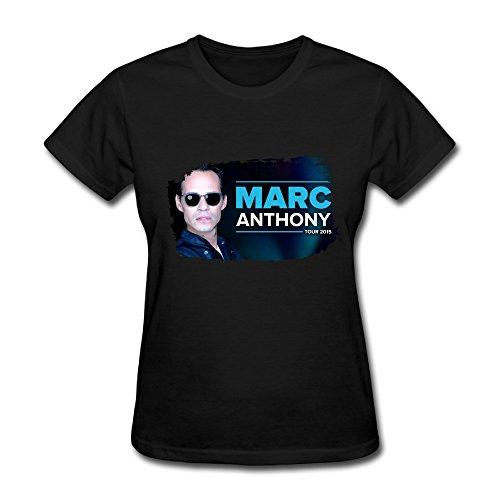- Hot Marc Anthony Unido2 Tour 2016 T Shirt For Women