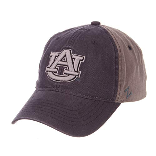 (ZHATS NCAA Auburn Tigers Men's Moonscape Relaxed Cap, Adjustable, Grey/Team Color)