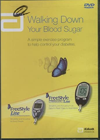 Walking Down Your Blood Sugar: A Simple Exercise Program To Help Control Your Diabetes (Virtual Fitness Dvds)