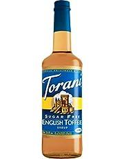 Torani Sugar Free English Toffee Flavor Syrup