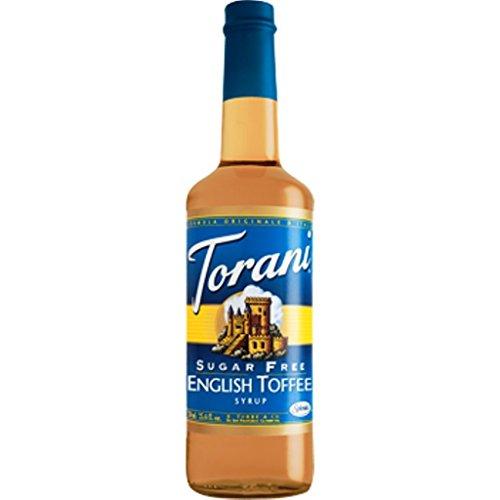 TORANI SUGAR FREE ENGLISH TOFFEE 750 ()