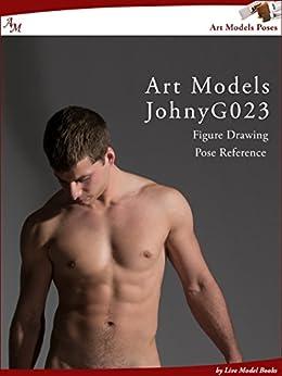 Art Models JohnyG023: Figure Drawing Pose Reference (Art Models Poses) by [Johnson, Douglas]