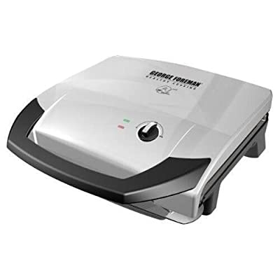 George Foreman GR0059P 120-Square Inch Healthy Cook Grill by Applica