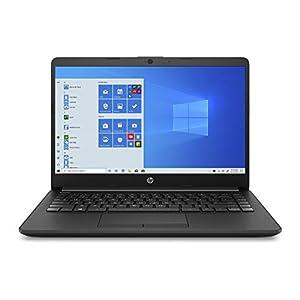 HP 14 Ultra Thin & Light 14″ (35.56cms) Laptop (10th Gen i3-1005G1/8GB/256GB SSD/Win 10 Home/MS Office/1.47 Kg/Jet Black), 14s-cf3074TU