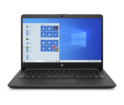 HP 14 Ultra Thin & Light 14-inch Laptop (10th Gen i3-1005G1/8GB/256GB SSD/Win 10 Home/MS Office/1.47 Kg/Jet Black), 14s…