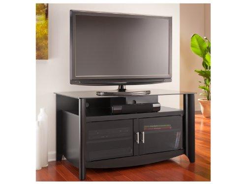 Aero TV Stand in Classic Black