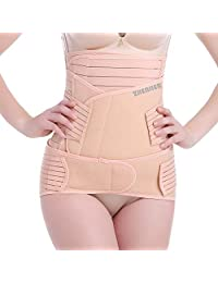 ZHENJIER 3 in 1 Postpartum Support - Recovery Belly/Waist/Pelvis Belt Shapewear