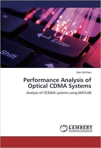 Performance Analysis of Optical CDMA Systems: Analysis of OCDMA