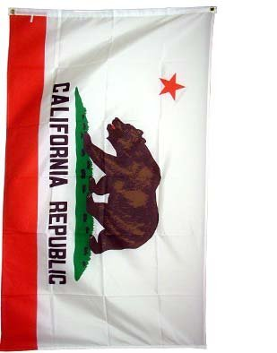 New 2x3 Californian Flag US USA State California Flags