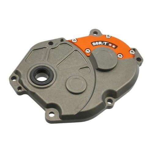 mit O-Ring und Wellendichtring M verst/ärkt CNC gefr/äst mit Lagern Getriebedeckel 2-geteilt Hard eloxiert Stage6 R//T