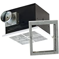 Air King FRAK90 Energy Star Qualified Fire-Rated Quiet Exhaust Bath Fan with 90-CFM and 1.5-Sones, White Finish by Air King