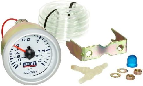 Instrumentos adicional Indicador medidor gauge vacuum vacio IA51LD Manometro Boost Presi/ón Turbo