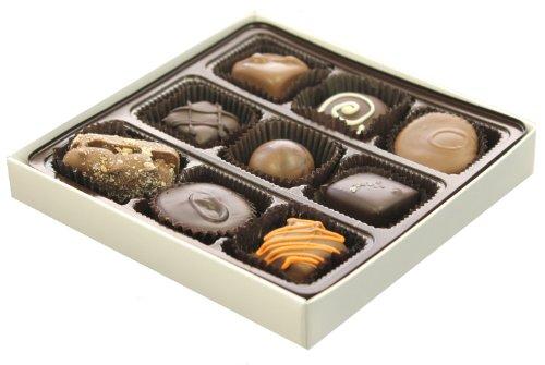 Chocolate Assortment, 9 Piece Chocolate Gift Box