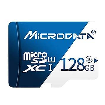 Tarjeta de Memoria MICRODATA 128GB U3 Azul y Blanca TF ...