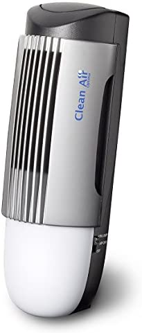 4x Design Plasma Ionic Air Purifier CA-267 - Air cleaner for small rooms - Suitable 20m² - Silent operation