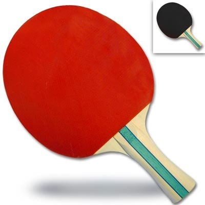 Buy CSI Table Tennis Paddle Soft Rubber Face, Red/Black
