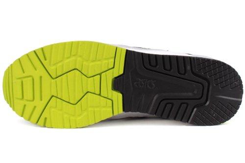 Zapatillas De Deporte Asics Gel-lyte Iii Para Hombre (h307n-0101) Blanco / Blanco / Amarillo / Negro