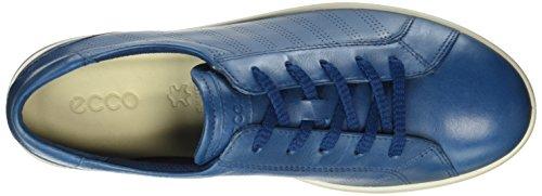 Poseidon para Aimee Cordones de Azul Ice Ecco Mujer White50007 Zapatos Derby X4xfx8n