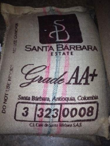 22 lbs COLOMBIA SANTA BARBARA ESTATE EXCELSO AA+ GREEN COFFEE BEANS by Invalsa Coffee (Image #1)