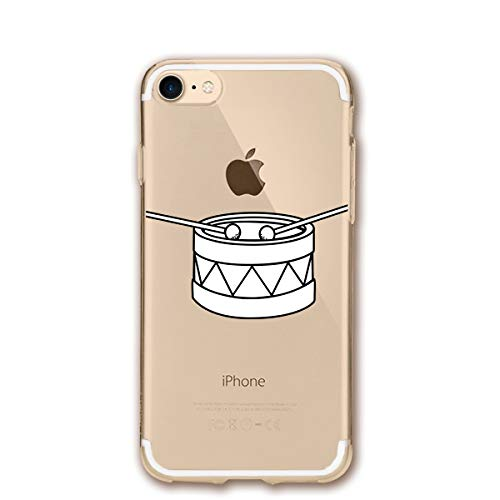 - Fashion iPhone 8 Case iPhone 7 Case Drumsticks Drummer Scratch Proof Shock Absorption Mobile Phone Shell 4.7-inch