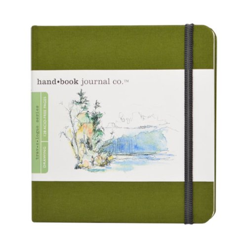 Global Art Materials Hand-Book Artist Journal Square Cadmium...