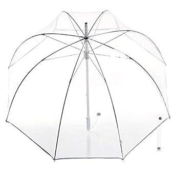 8bb723593 Amazon.com | totes Signature Clear Bubble Umbrella | Umbrellas