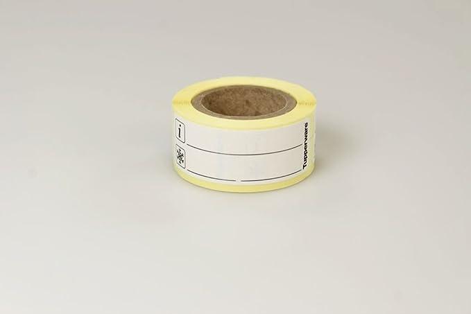Tupperware Congélateur Étiquettes FM2-A55M-E33Rouleau de 100étiquettes de congélation Noir 15468