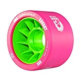 Atom Savant Roller Wheels - Ultra Light For Perfect Speed and Control, Pink 88A, Set of 8