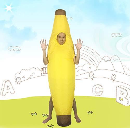 AMhuui Traje Inflable, Traje de plátano Inflable Adultos ...