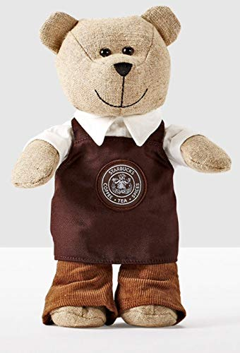 Bear Starbucks - Starbucks 2016 Bearista Bear Limited Edition (Brown Apron)