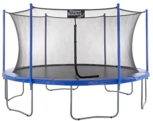 "Upper Bounce 16 FT. Trampoline & Enclosure Set equipped with the New ""EASY ASSEMBLE FEATURE"""