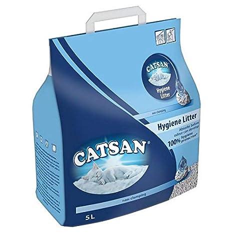 Catsan 2 x 5L para Arena de Gatos de higiene: Amazon.es: Productos para mascotas