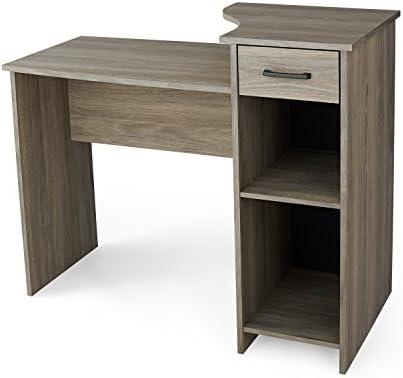 Charmant Mainstays Student Desk, Multiple Finishes (Rustic Oak)