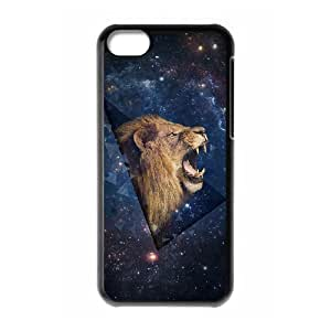 Lion Custom Cover Case for Iphone 5C,diy phone case ygtg541173