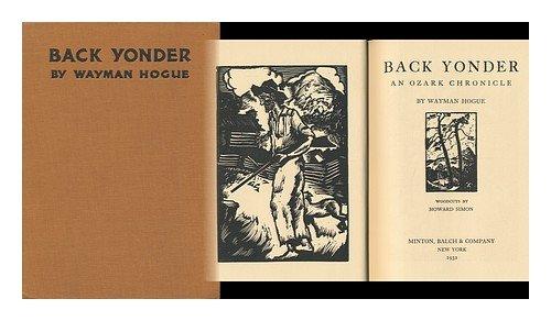 Back Yonder : An Ozark Chronicle