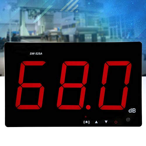 SW-525A Wall Hanging Digital Sound Level Meter 30-130dB Digital Decibel Meter Noise Measurement