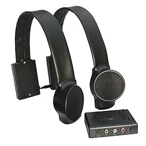 Audio Fox Wireless TV Speakers - Black
