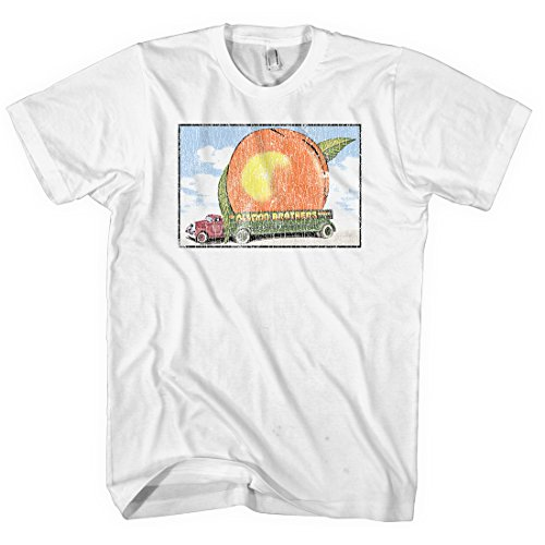 The Allman Brothers - Eat A Peach - 1973 Tour - Adult T-Shirt Size Large